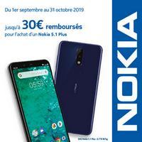 Offre de Remboursement Nokia : Jusqu'à 30€ Remboursés sur Smartphone 5.1 Plus