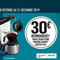 Offre de Remboursement Philips : 30€ Remboursés sur Senseo® Switch 2 en 1