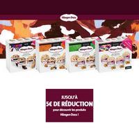 Offre de Remboursement Haägen-Dazs : Jusqu'à 5€ Remboursé sur Barista Collection ou Obsessions Collection