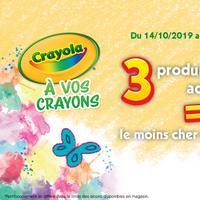 Offre de Remboursement Goliath : 3ème produit Crayola 100% Remboursé