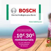 Offre de Remboursement Bosch : Jusqu'à 30€ Remboursés sur Instruments de Mesure