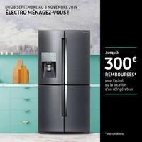 Offre de Remboursement Samsung : Jusqu'à 300€ Remboursés sur Réfrigérateur