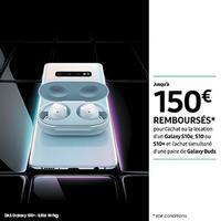 Offre de Remboursement Samsung : Jusqu'à 150€ Remboursés sur Smartphone Galaxy S10e, S10 ou S10+