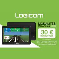 Offre de Remboursement Logicom : 30€ Remboursés sur GPS Mappy chez Boulanger