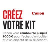Offre de Remboursement Canon : Jusqu'à 1000€ Remboursés sur une Sélection de Produits