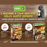 Bon Plan Nestlé chez Géant Casino : 1 Machine Dolce Gusto Offerte