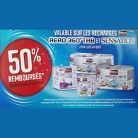 Offre de Remboursement Rubson : 50% Remboursés sur Recharges Aero 360° Tab et Sensation