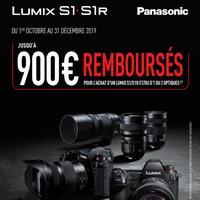Offre de Remboursement Panasonic : Jusqu'à 900€ Remboursés sur Appareil Photo et/ou Optique(s) Lumix