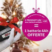 Bon Plan Bosch : Batterie 18V Offerte pour 1€