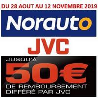 Offre de Remboursement JVC / Norauto : Jusqu'à 50€ Remboursés sur Autoradio