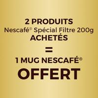 Bon Plan Nescafé : 1 Mug offert pour l'achat de 2 produits Spécial Filtre 200g sur Quoty