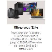 Offre de Remboursement hp Pro: Jusqu'à 250€ Remboursés sur Reprise PC