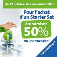 Offre de Remboursement Ravensburger : 50% Remboursés sur Extension GraviTrax