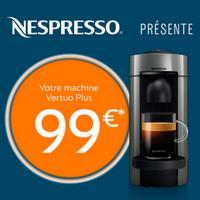 Offre de Remboursement Krups / Magimix : Machine Nespresso Vertuo Plus à 99€