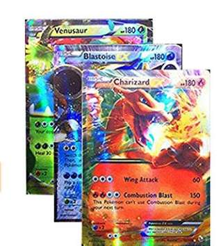 Moins de 9€ le lot de 100 cartes Pokemon