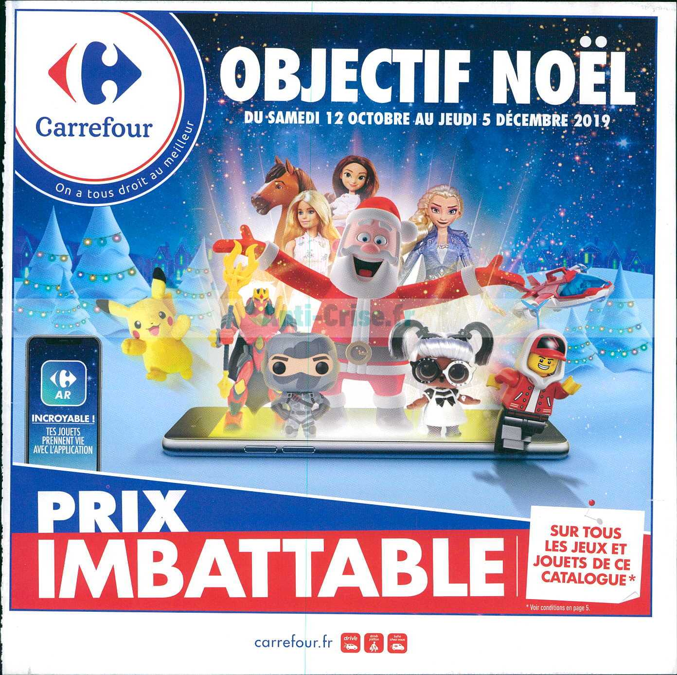 Catalogue Carrefour Du 12 Octobre Au 05 Décembre 2019