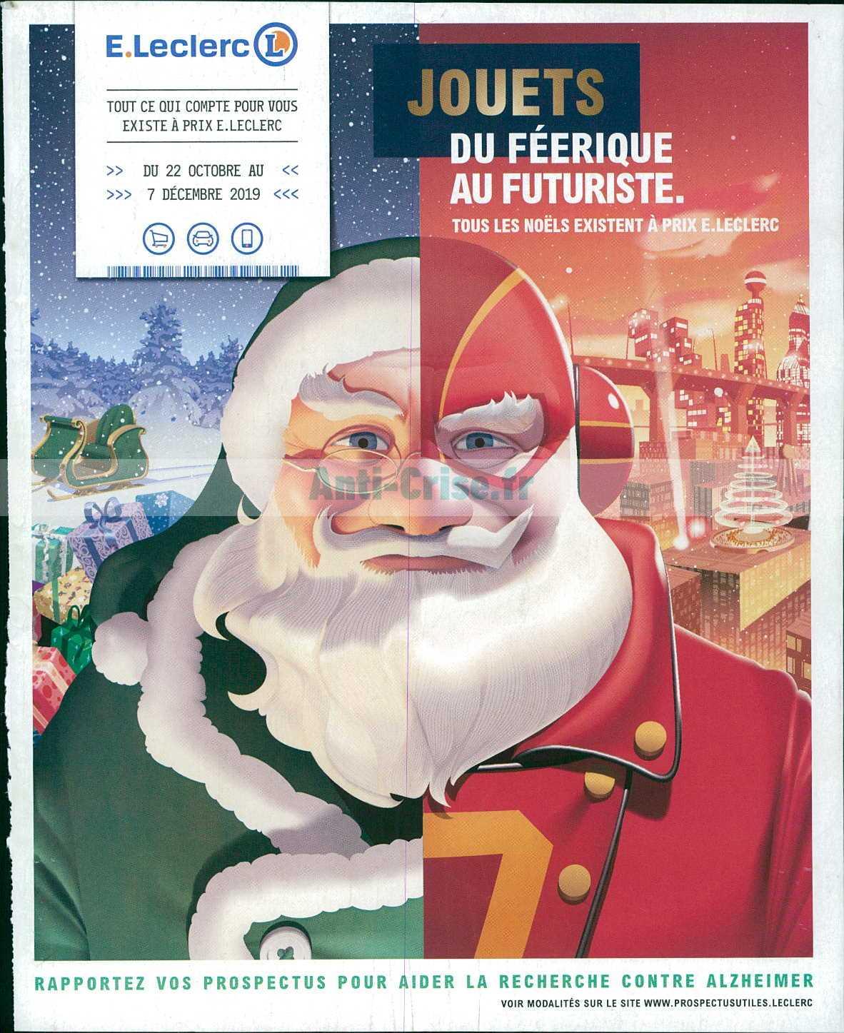 Catalogue Leclerc du 22 octobre au 07 décembre 2019 (Jouets de Noël)