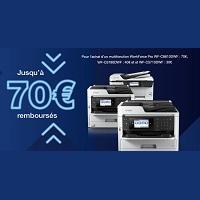 Offre de Remboursement Epson : Jusqu'à 70€ Remboursés sur une Imprimante Multifonction