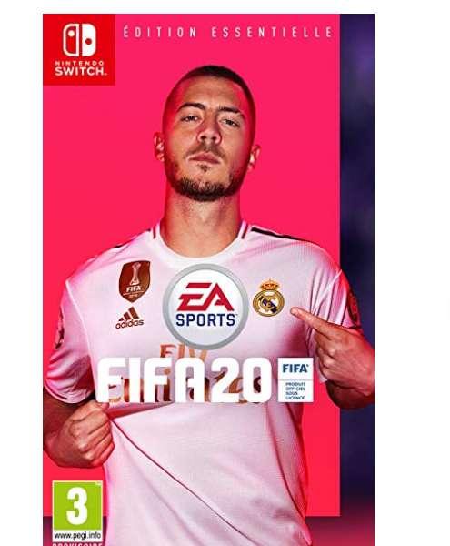 Jeu FIFA 20 pour Console SWITCH à 30€