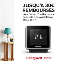 Offre de Remboursement Honeywell : Jusqu'à 30€ Remboursés sur un Thermostat Connecté