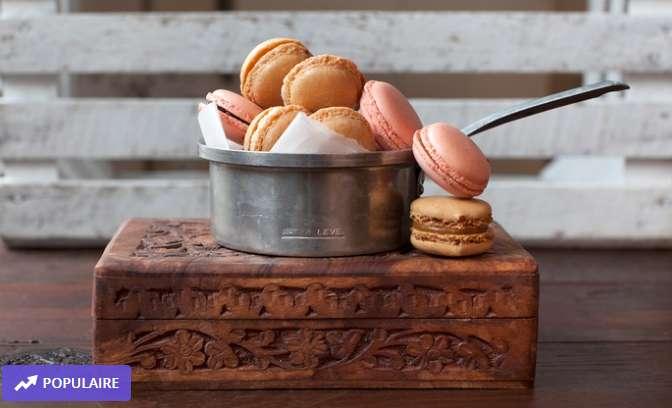 Paris : 9.9€ les 20 macarons bio artisanaux