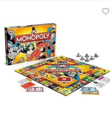 9,99€ le jeu du MONOPOLY edition DC COMICS
