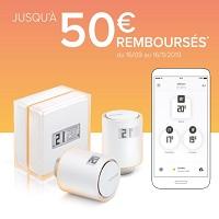 Offre de Remboursement Netatmo : Jusqu'à 50€ Remboursés sur les Thermostats et Têtes Thermostatiques Intelligents