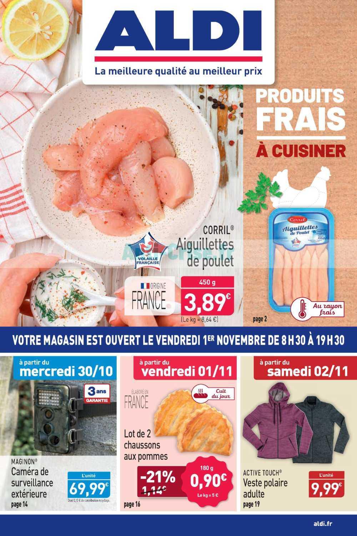 Catalogue Aldi Du 30 Octobre Au 05 Novembre 2019 Catalogues Promos Bons Plans Economisez Anti Crise Fr