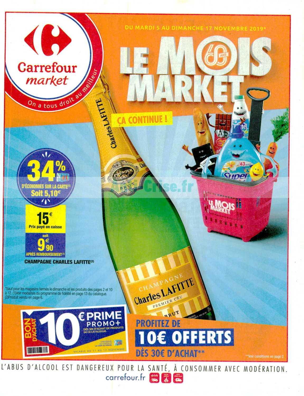 Catalogue Carrefour Market du 05 au 17 novembre 2019
