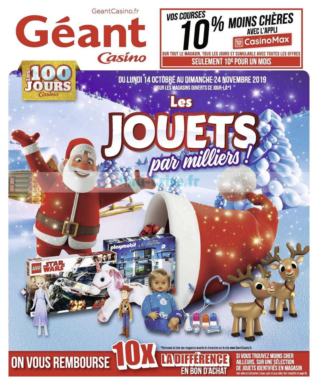 Catalogue Géant Casino du 14 octobre au 24 novembre 2019 (Jouets de Noël)