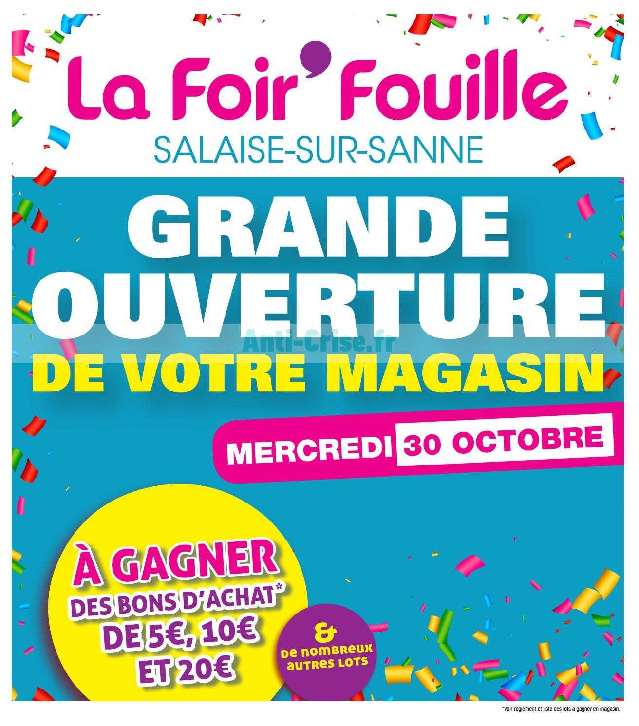 Catalogue La Foir Fouille Du 30 Octobre Au 09 Novembre 2019