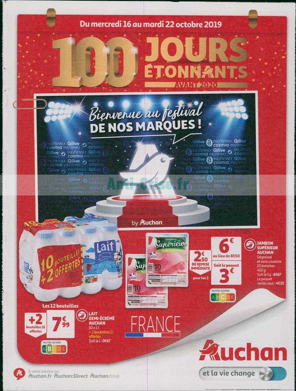 Catalogue Auchan du 16 au 22 octobre 2019