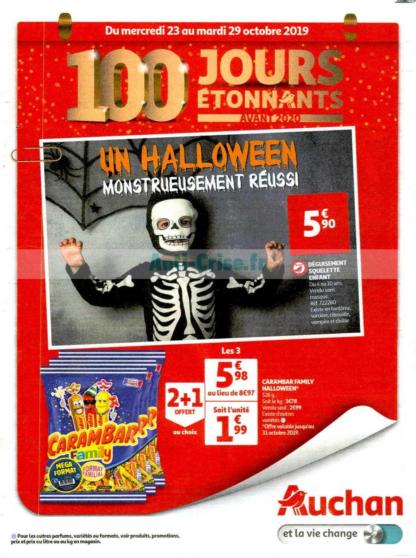 Catalogue Auchan du 23 au 29 octobre 2019