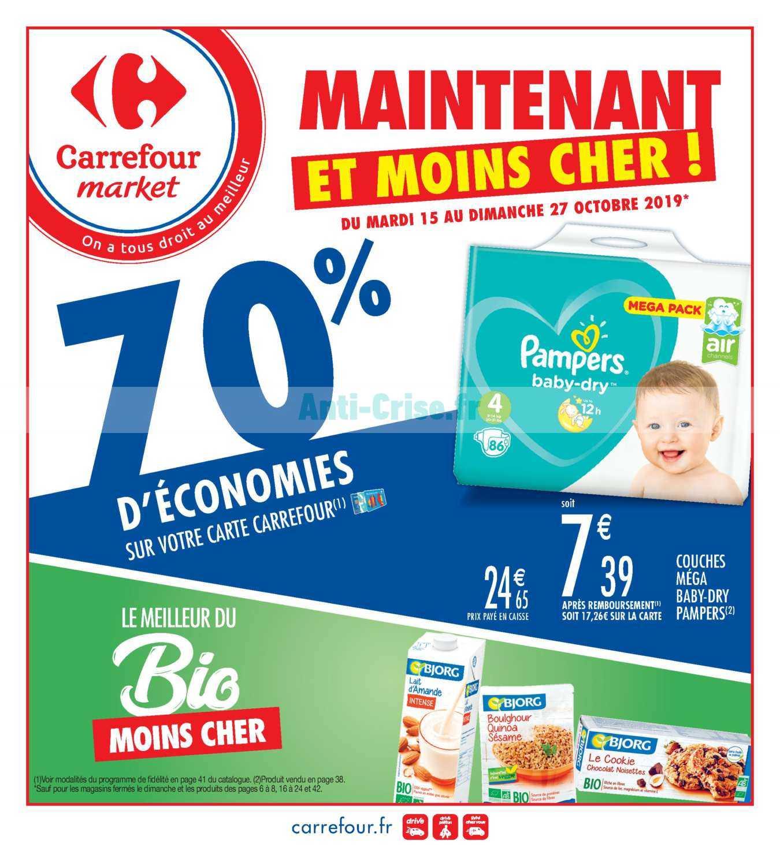 Catalogue Carrefour Market du 15 au 27 octobre 2019