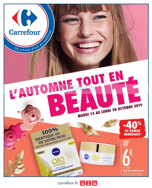 Catalogue Carrefour du 15 au 28 octobre 2019 (Beauté)