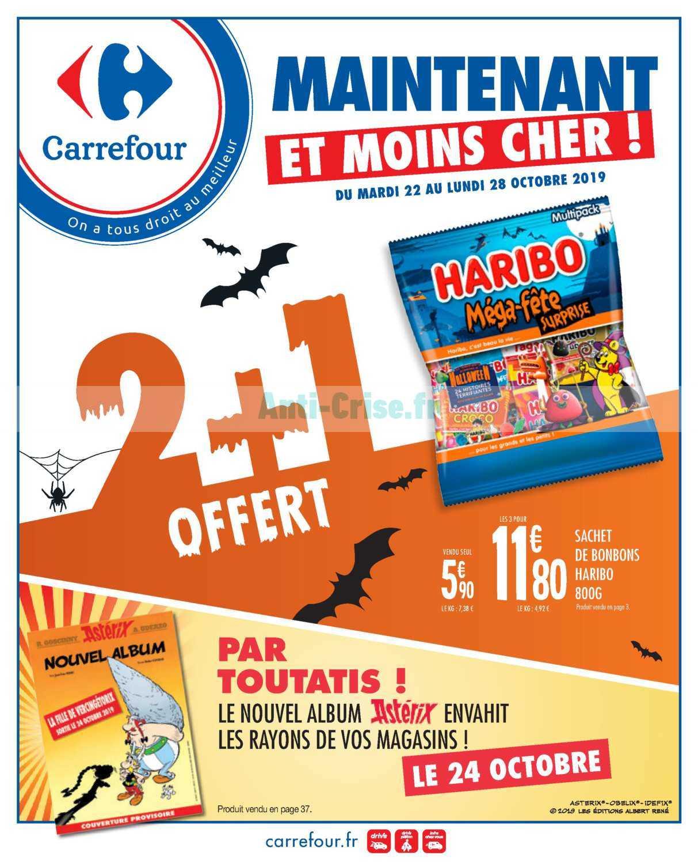 Catalogue Carrefour du 22 au 28 octobre 2019