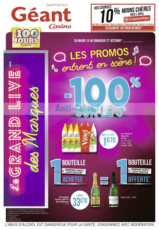 Catalogue Géant Casino du 15 au 27 octobre 2019