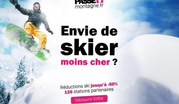 6€ la carte Passe Montagne qui donne des forfaits de ski à prix réduits