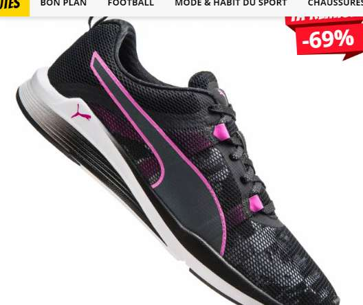 25,99€ les chaussures running femmes PUMA Swan à impulsions Ignite XT
