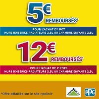 Offre de Remboursement Ripolin : Jusqu'à 12€ Remboursés chez Leroy Merlin