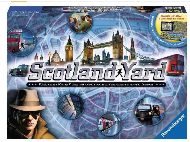 Moins de 20€ le jeu de société Scotland Yard