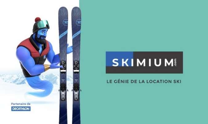 50% de réduction sur les locations de ski avec SKIMIUM
