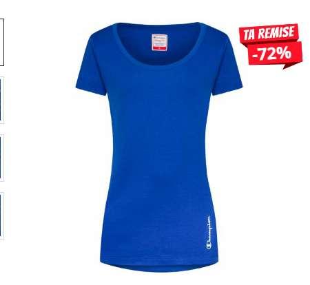 Moins de 7€ le tee shirt Champion pour femmes