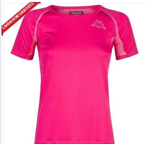 Moins de 7€ le tee shirt Kappa pour femmes