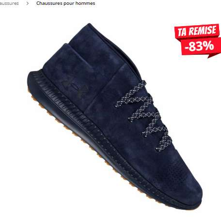 Chaussures Under Armour Veloce Mid Suede à 19€