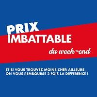 Carrefour : Prix Imbattable du Week-End (18/10 – 20/10)