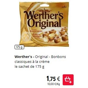 Bonbons Werther's Original Partout