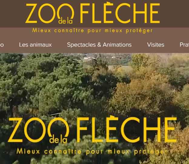 ZOO DE LA FLECHE : billets à 16 et 13€ au lieu de 24 et 19€
