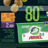 Lessive en Capsules Ariel chez Match (19/11 – 24/11)