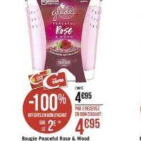 Bougie Parfumée Glade chez Casino  (18/11 – 01/12)